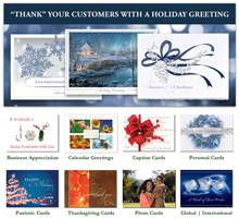 Online ordering cards for any occasion - holiday, business, photo, personal cards